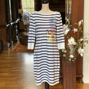 Ralph Lauren Navy & White Dress